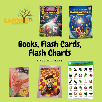 Books, Stamping, Flash Chart, Flash Cards