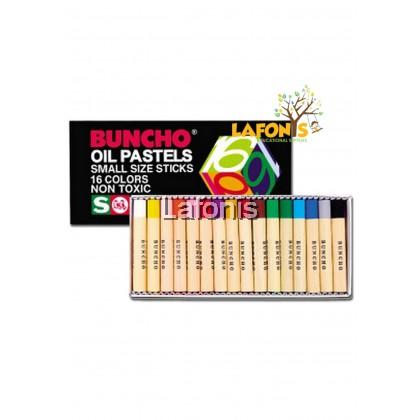 Buncho Oil Pastels 16 Colours