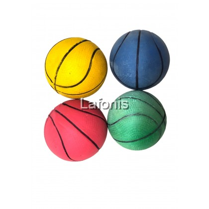 Small Rubber Ball - Blue (6*6*6cm)