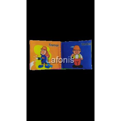 Mini Fabric Book Character