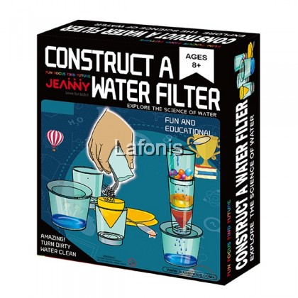 Construct Of A Water Filter (16.5*21.5*5.5cm)
