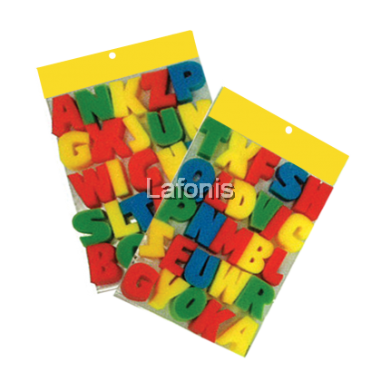 Alphabet Sponge Painting Set(3*30*20cm)