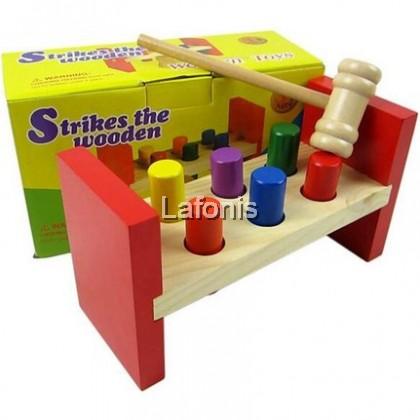 Strike The Wooden (Pound) (19*10*7.5cm)