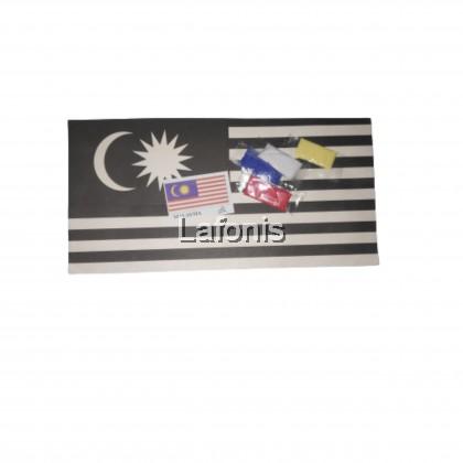Malaysia Colouring Flag (20 x 1 x 15cm )