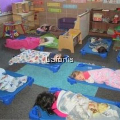 Children Sleeping Stackable Cot-(15*138*57cm)