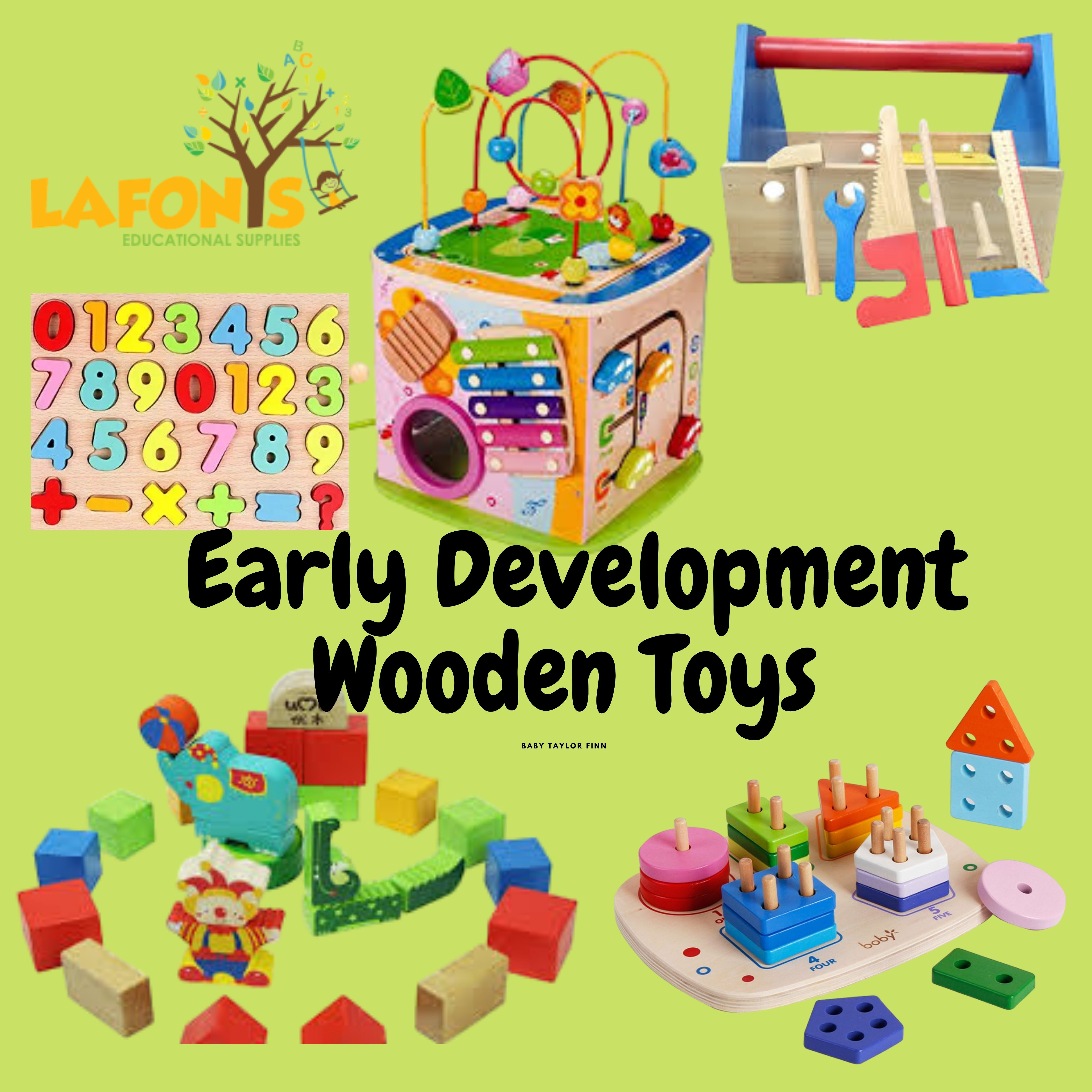 Early Development Wooden Toys
